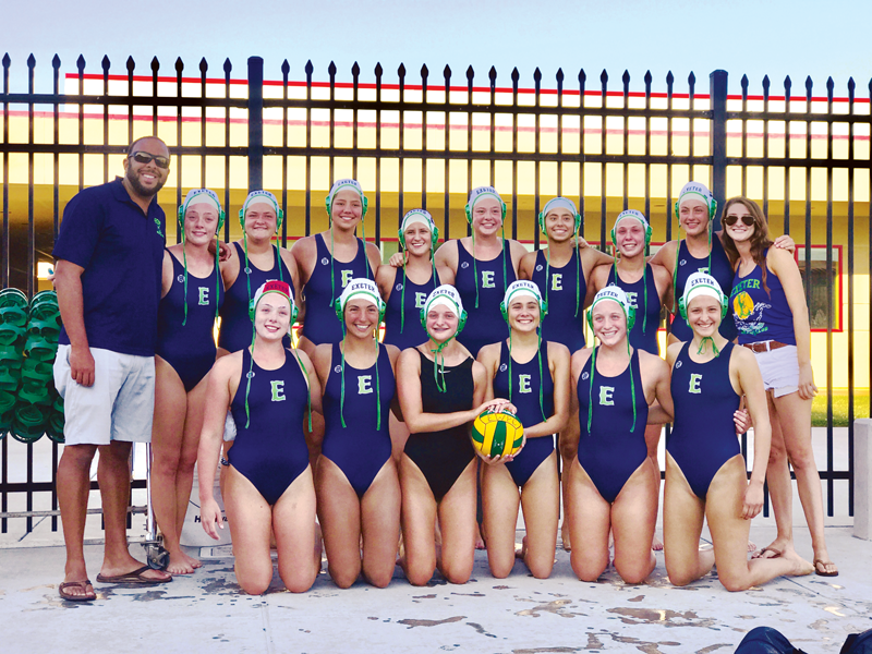 Exeter water polo club qualifies for Junior Olympics for 2nd straight year