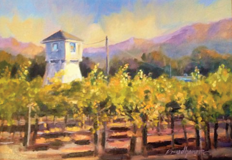 Courthouse Gallery displays impressionist paintings by Chuck Prudhomme, Iva Fendrick