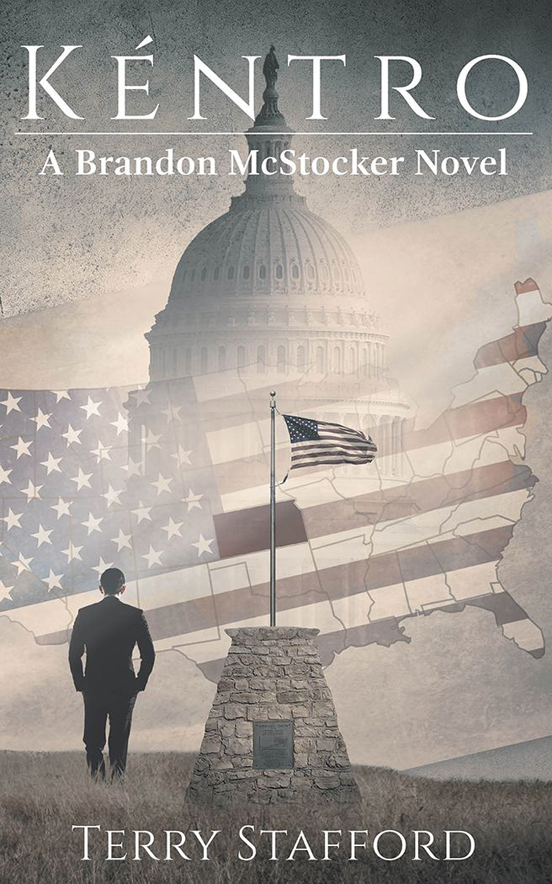 Visalia author Terry Stafford's new book 'Kéntro' follows a character on mission to counter government corruption