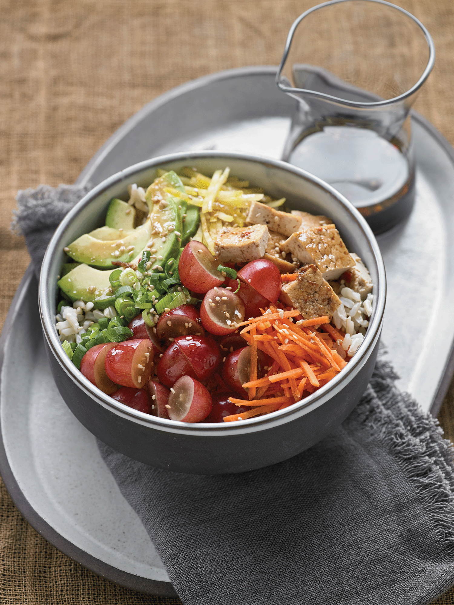 Recipe: Vegetarian Poke Bowl