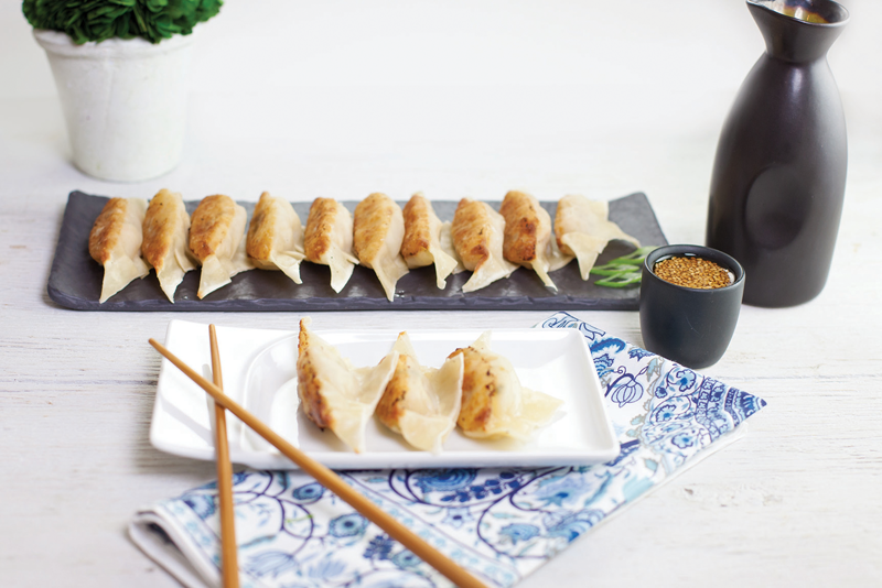 Asian-Inspired Recipe: Chinese Shrimp Potstickers