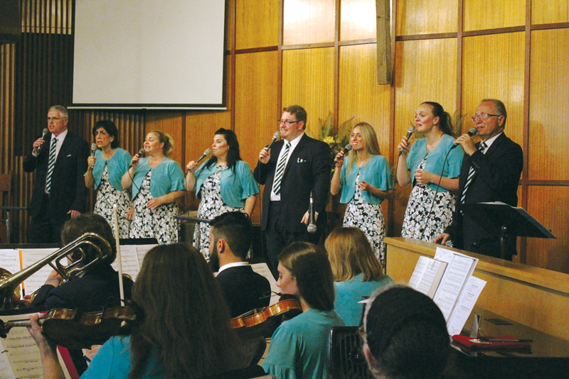 Lemon Cove lifts up prayer choir