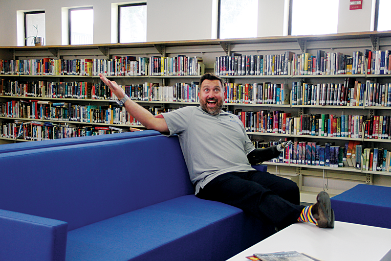 Back to School: Exeter students return to a refurbished library