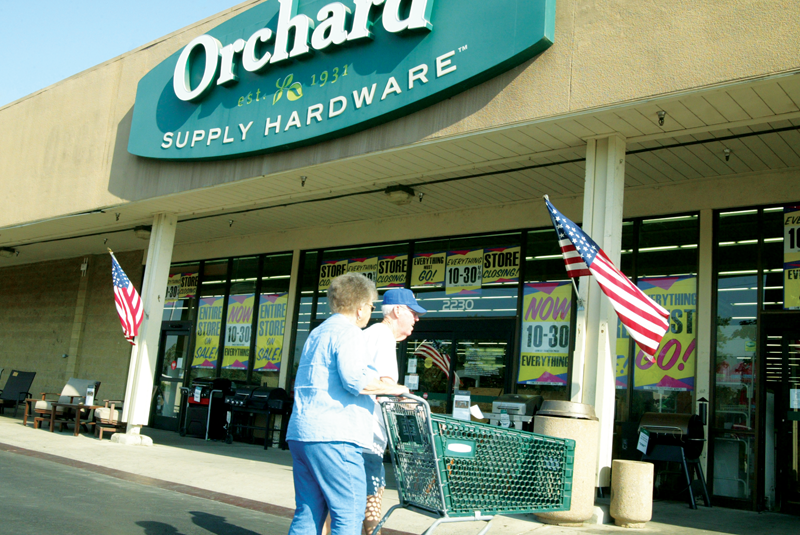 Orchard Supply Hardware to close in Visalia