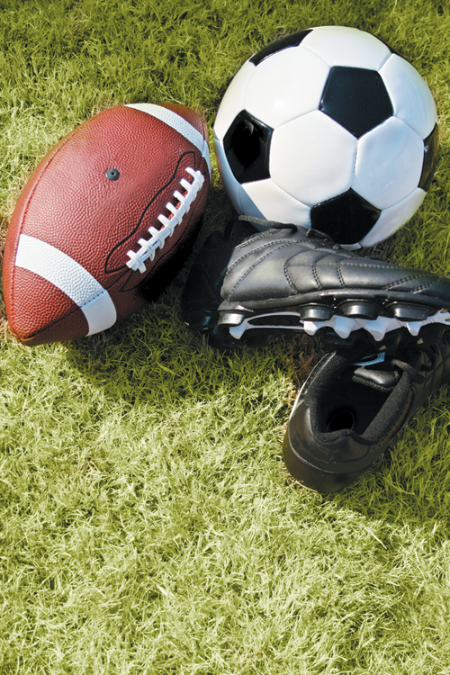 Football and soccer lead the state with a combined number of 141,472 participants