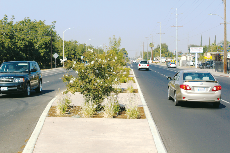 Visalia Road project makes a step toward safety