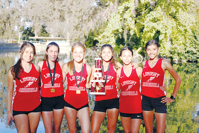 Cross Country: Cardinals take 2nd at the grove