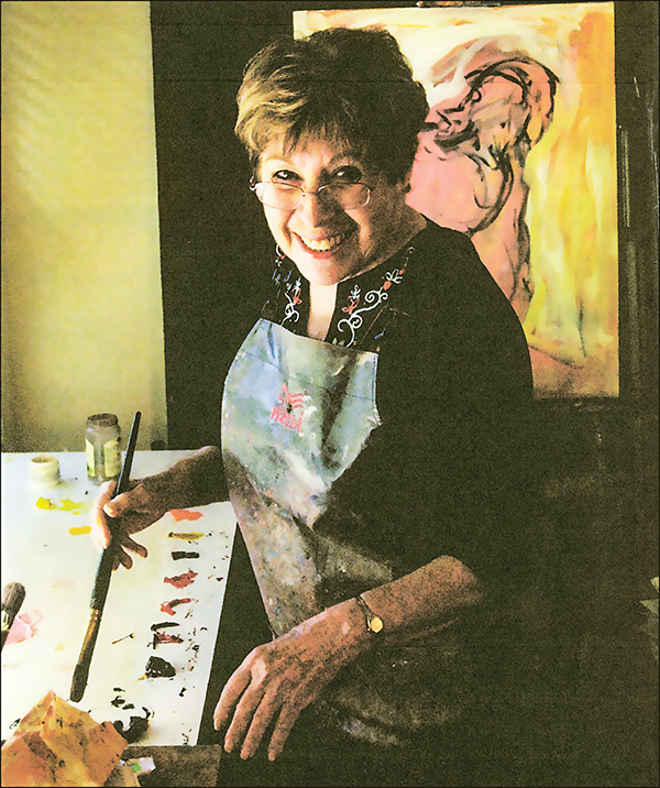 Renowned artist shows 'humanist expressionism' at Lindsay gallery