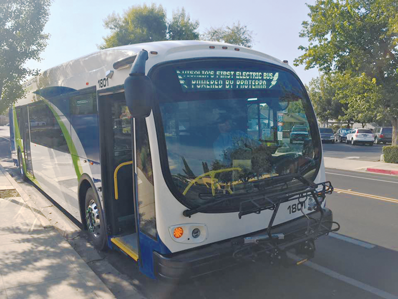 Visalia Transit charges up city's first battery-powered buses