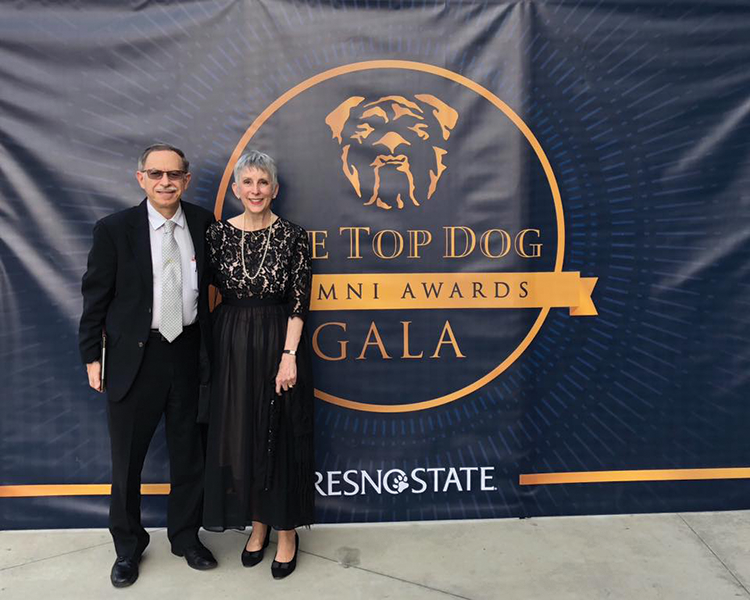 Tulare's Ellen Gorelick earns Top Dog Award from Fresno State