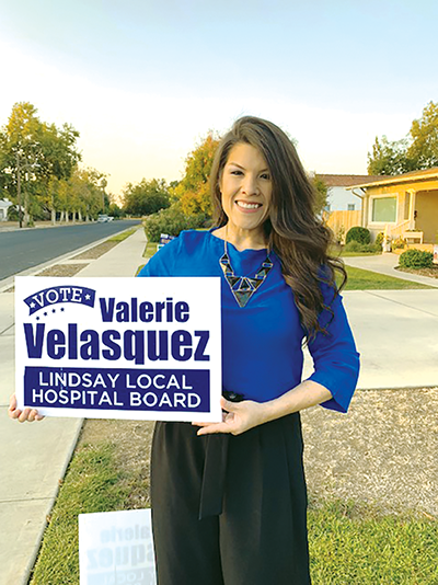 Velasquez and three other candidates run for Lindsay Hospital District Board
