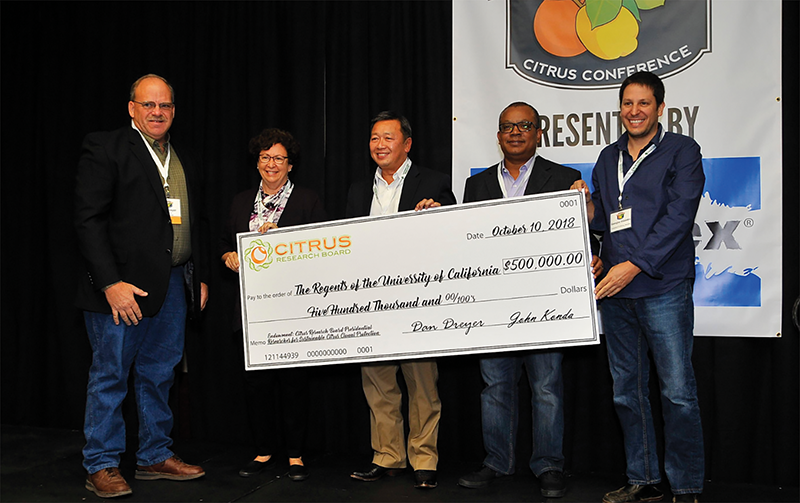 Visalia-based Citrus Research Board and UC create $1million endowment for citrus research