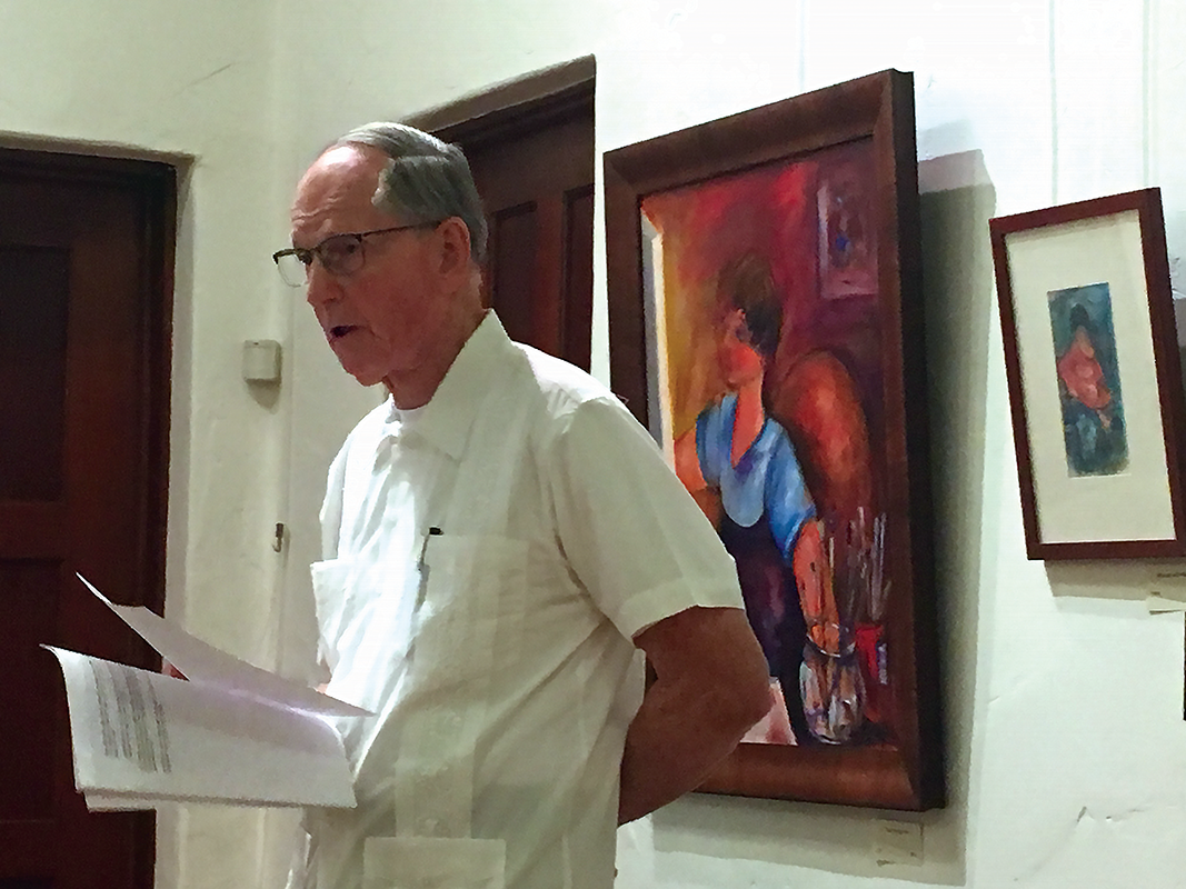 Dr. Richard Combs brings global politics to Lindsay's level