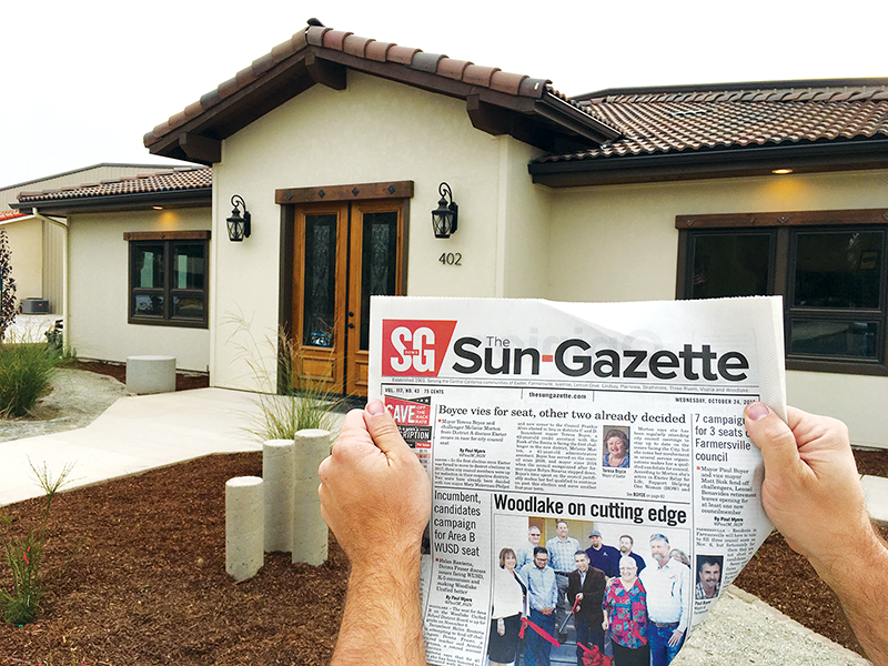 Sun-Gazette moves to new office on F St.