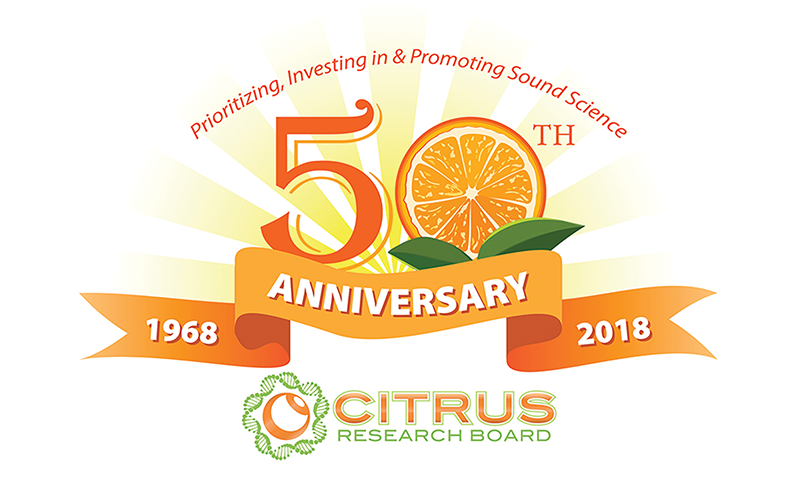 Citrus Research Board celebrates 50th anniversary protecting golden crop