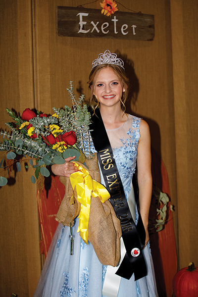 Hannah Lentz takes hometown crown
