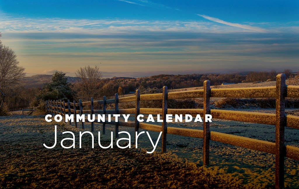 Community Calendar: January 2019