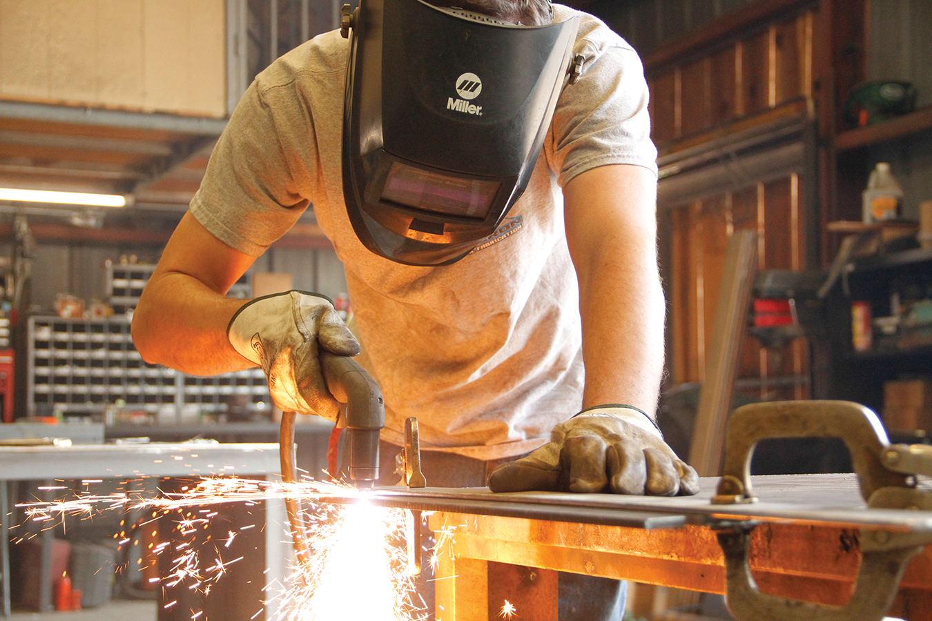 Tom Clar of TC Iron Metal Fabrication took his side business and turned it into an Exeter mainstay
