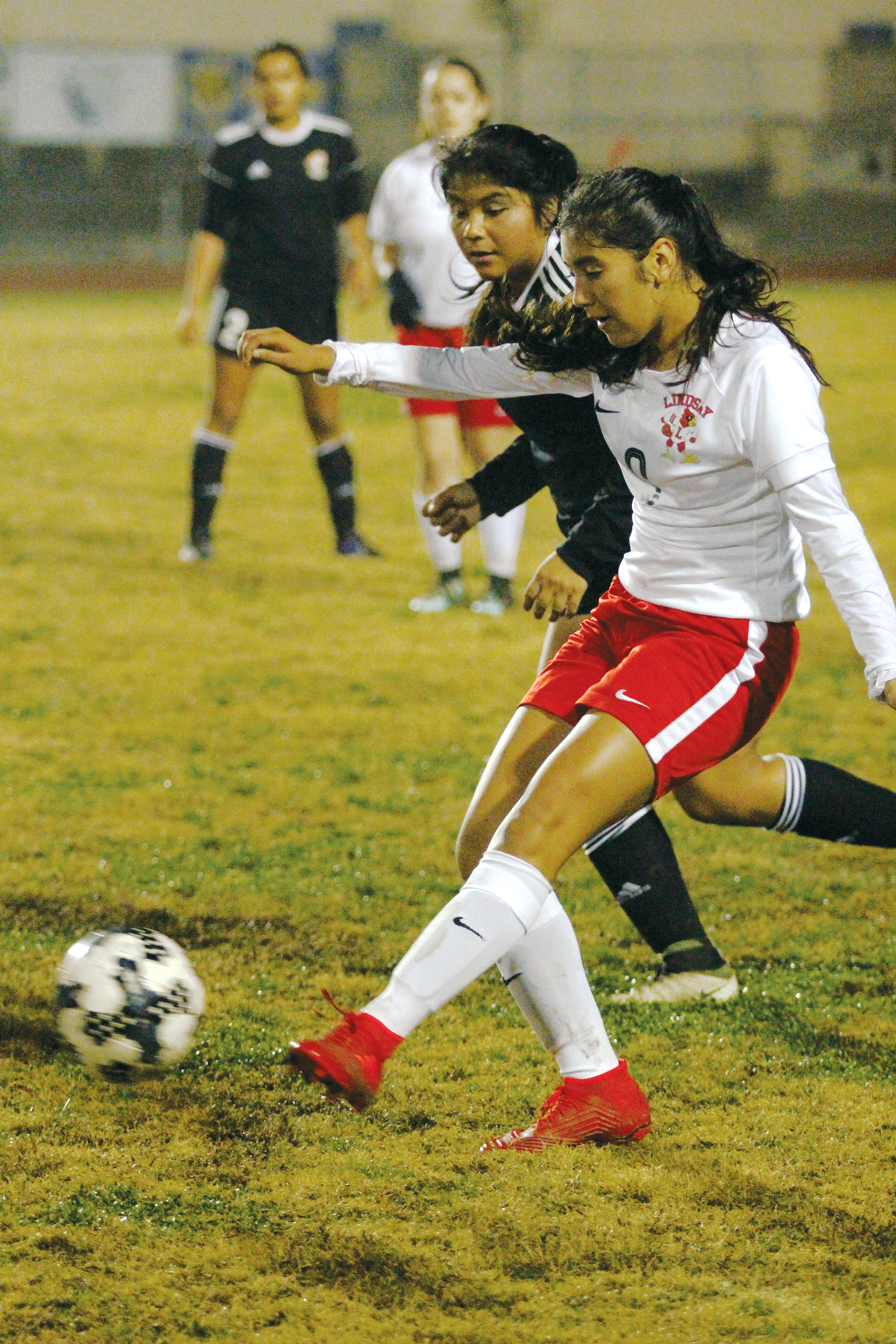Girls Soccer: Perez nets hat trick in Cardinals ESL opening win