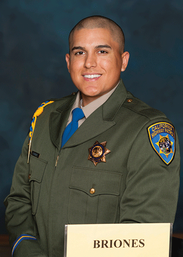 Local sworn in a CHP officer