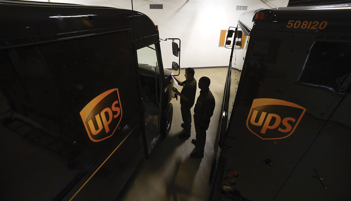 Local UPS to ship from new address