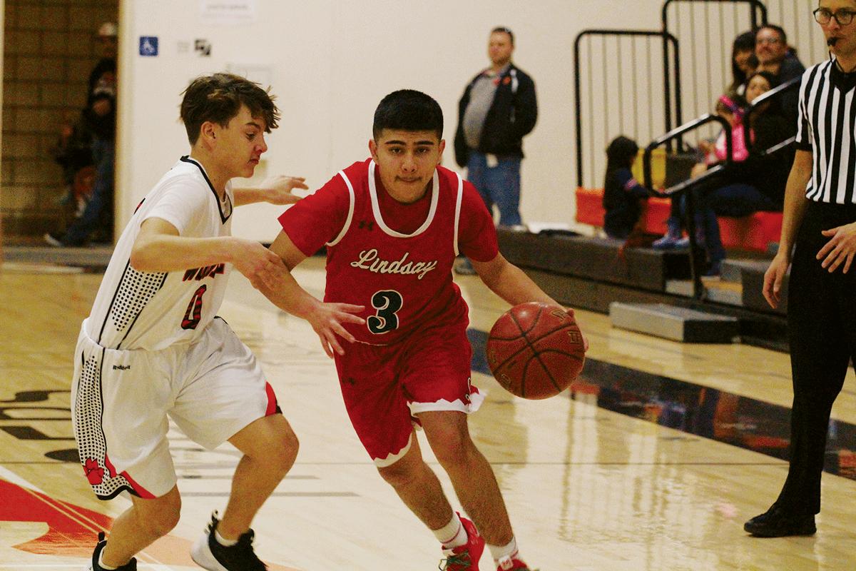 Boys Basketball: Lindsay Cardinals defeat Woodlake 81-72, snap 10 game losing streak