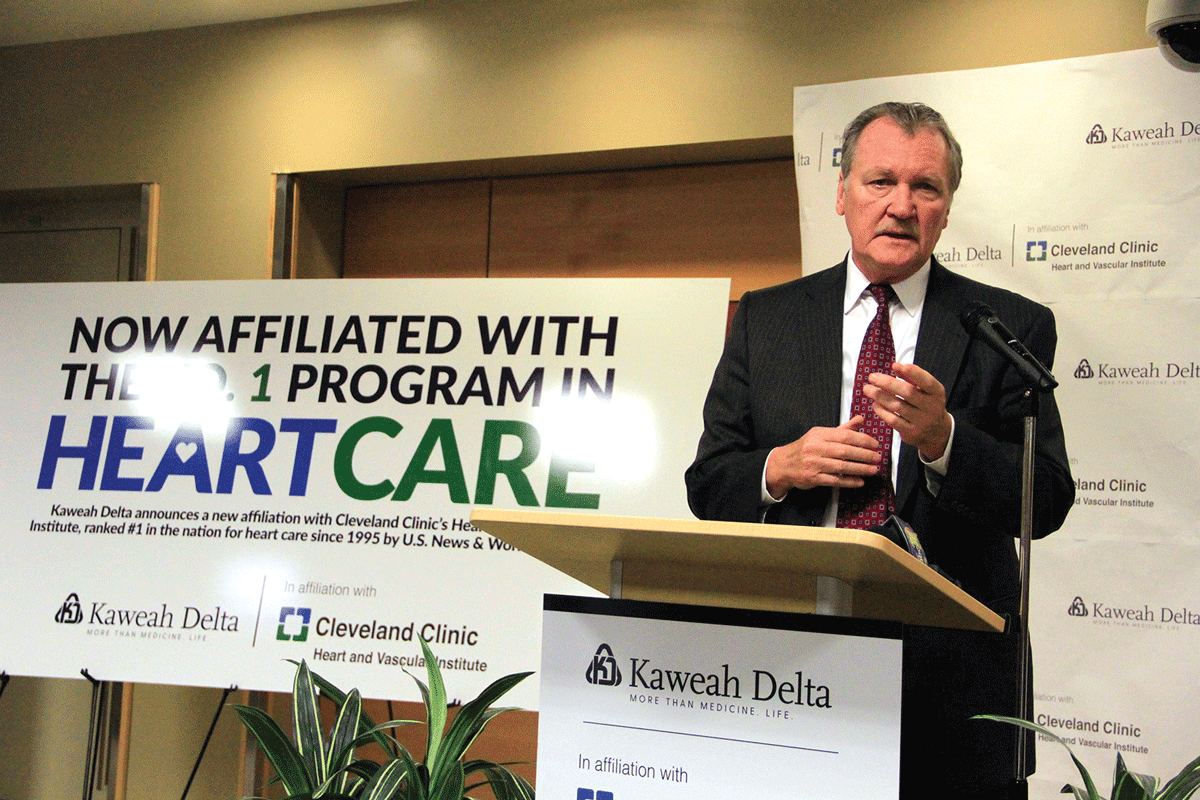 Kaweah Delta launches affiliation with Cleveland Clinic, the country's No. 1 heart hospital