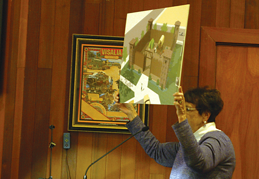 Historians, consultant narrow site of Fort Visalia to one block of downtown