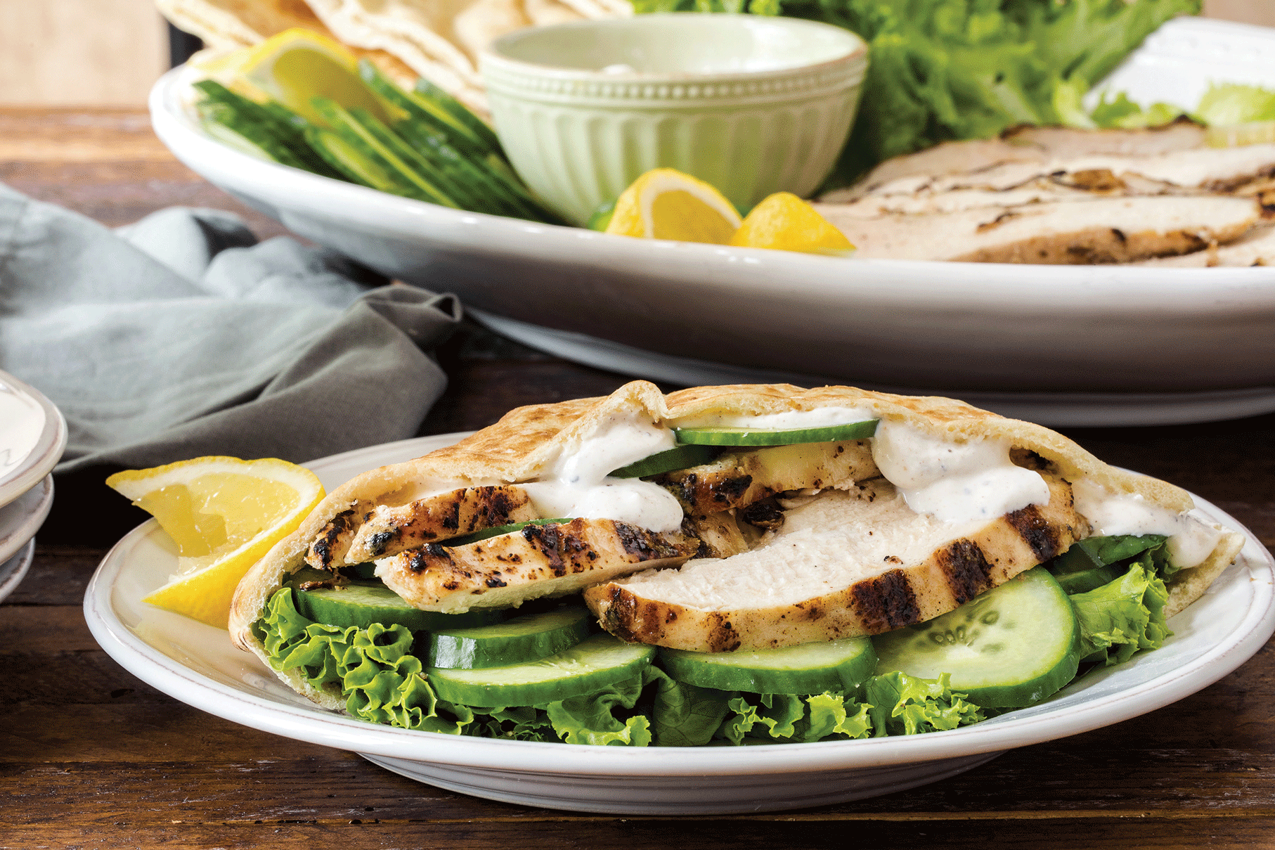 Trendy Tastes: Recipe for Grilled Chicken Shawarma