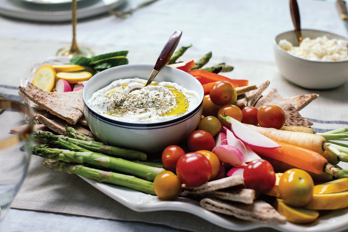 Trendy Tastes: Recipe for Za'atar Labneh
