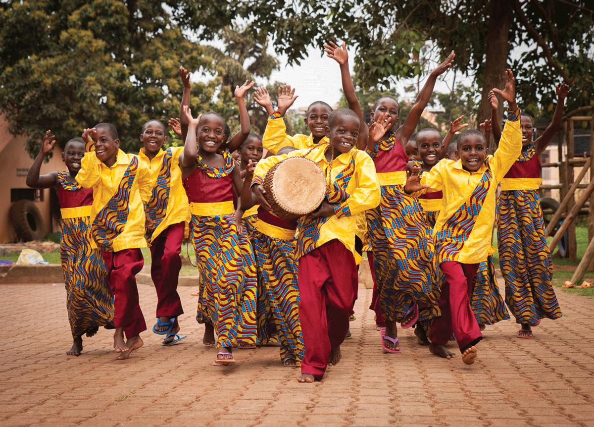 African Children's Choir sings in Visalia Jan. 23