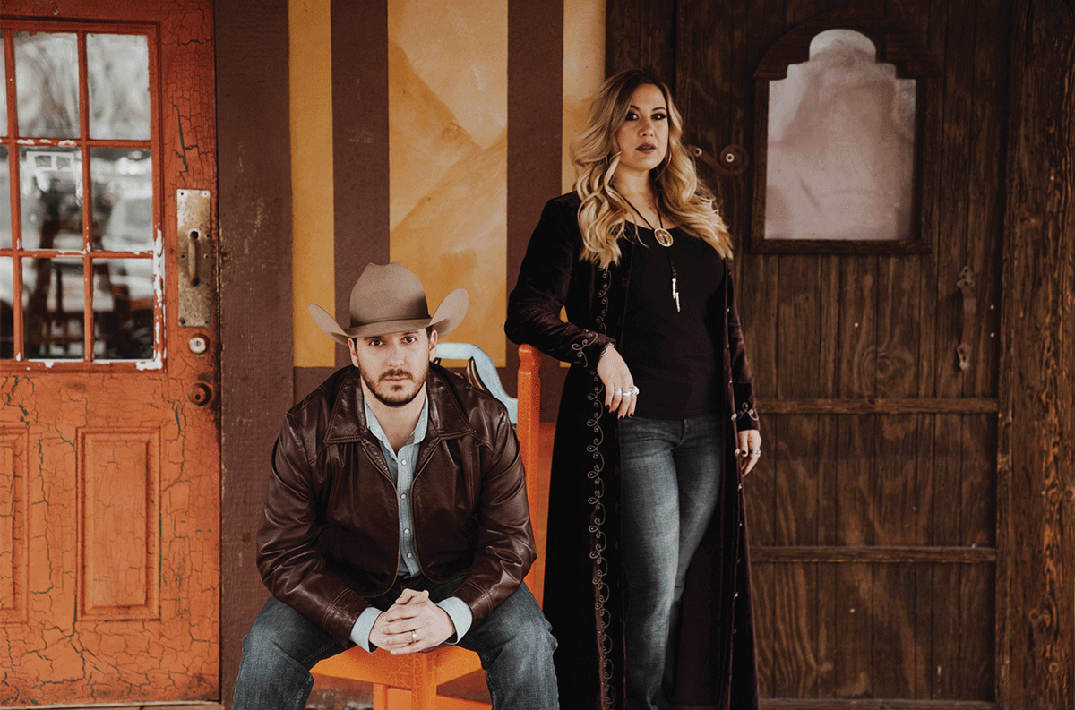 Local country music duo finds success from 'Middle of Nowhere USA'