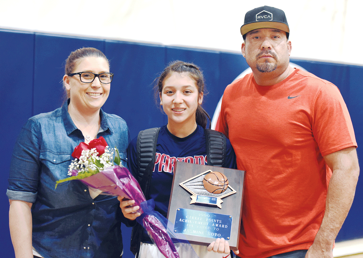 Girls Basketball: Strathmore's Soto passes 1,000-point milestone as a sophomore