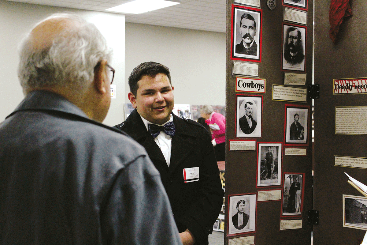 Middle and high school students present 105 projects at National History Day Competition