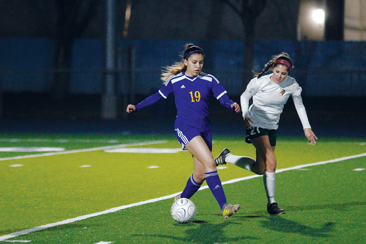 Girls Soccer: Exeter girls bring thunder after lightning delay