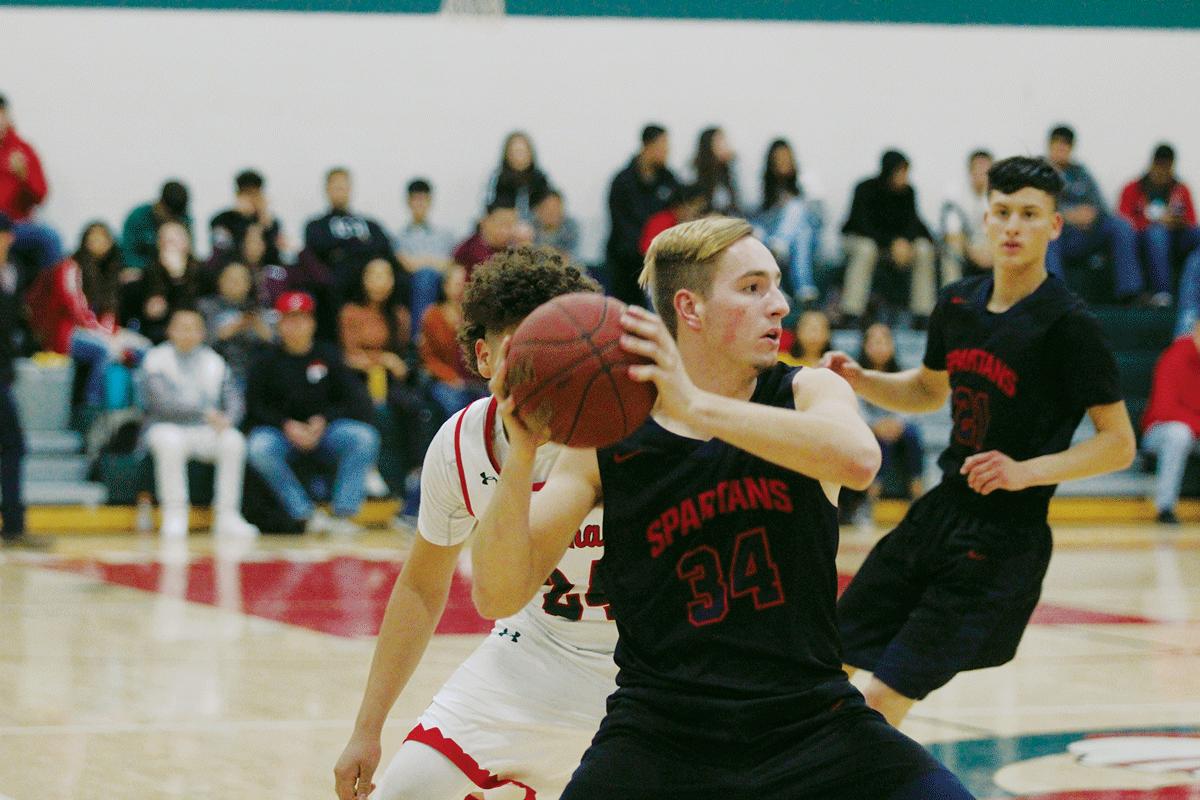 Boys Basketball: Strathmore Spartans survive Lindsay Cardinals
