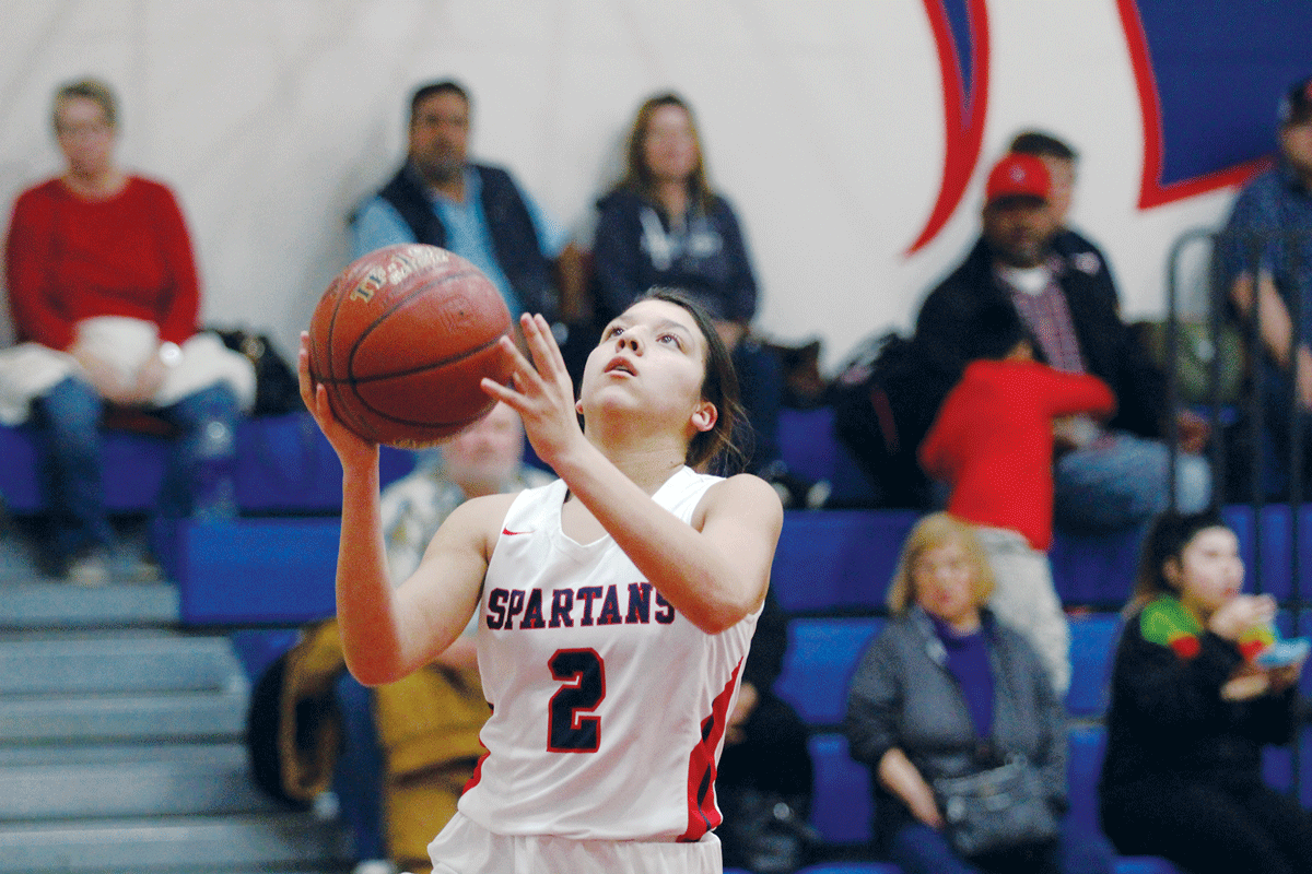 Girls Basketball: Strathmore Spartan sophomore continues to chase down history