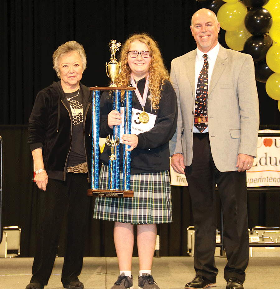Visalia student gets the 'W' at County Bee