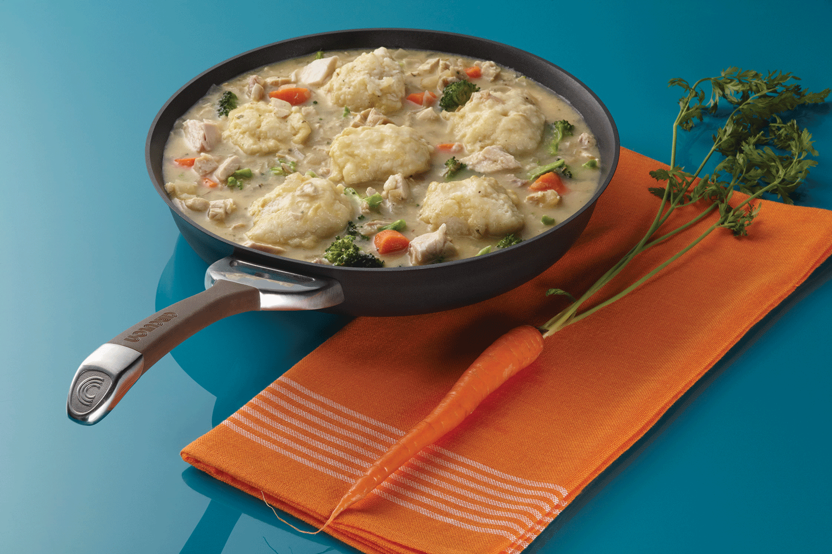 Cooking Up Comfort: Recipe for Skillet Chicken and Dumplings