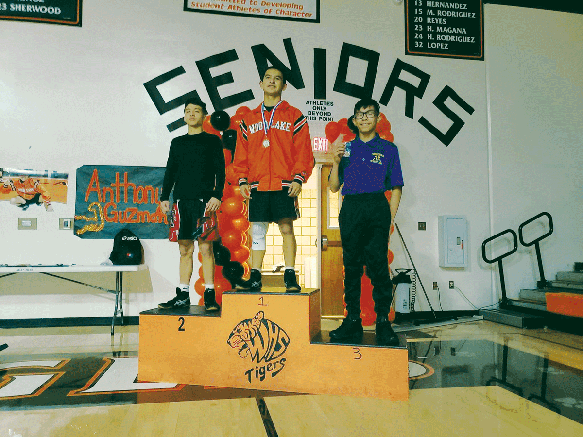 Wrestling: Woodlake Tigers take third at East Sequoia League Championships