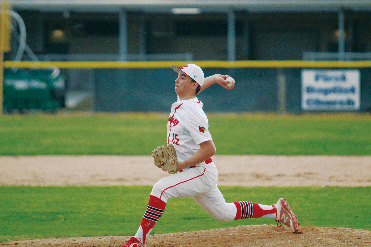 Cardinals come out strong in ESL opener defeating Woodlake 9-1