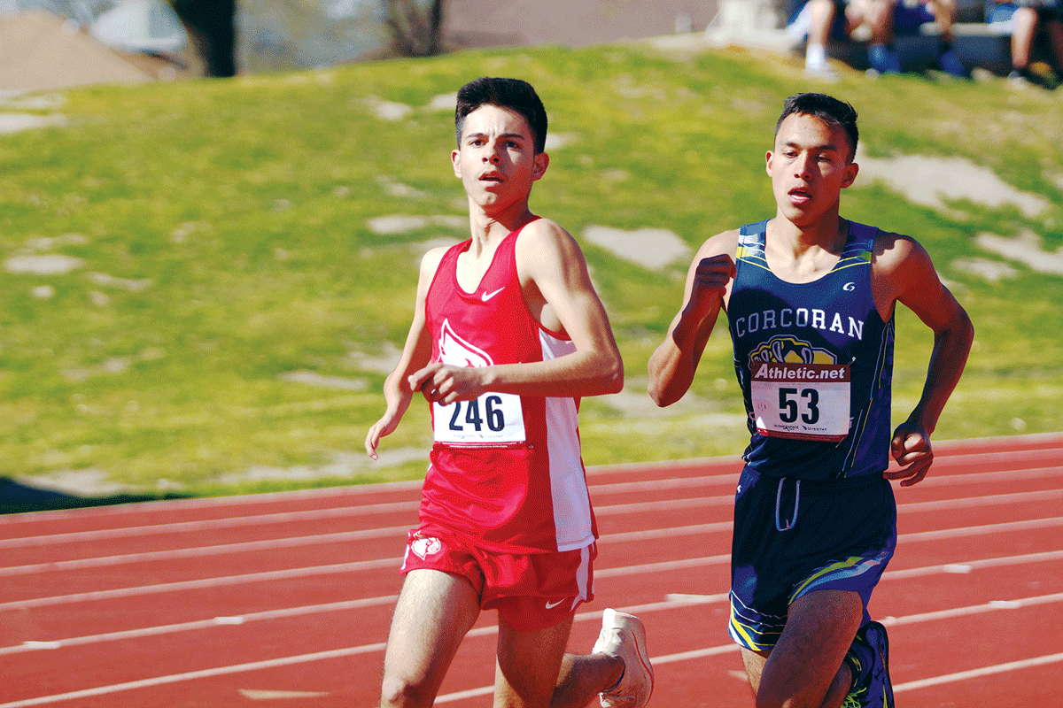Track and Field: Lindsay Cardinals' runners finish near the top in East Sequoia League opener