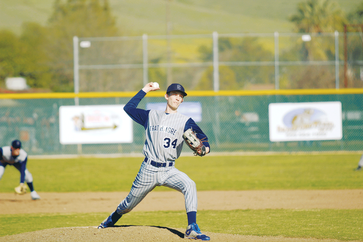 Baseball: Strathmore Spartans jump on Woodlake Tigers early, win 10-2
