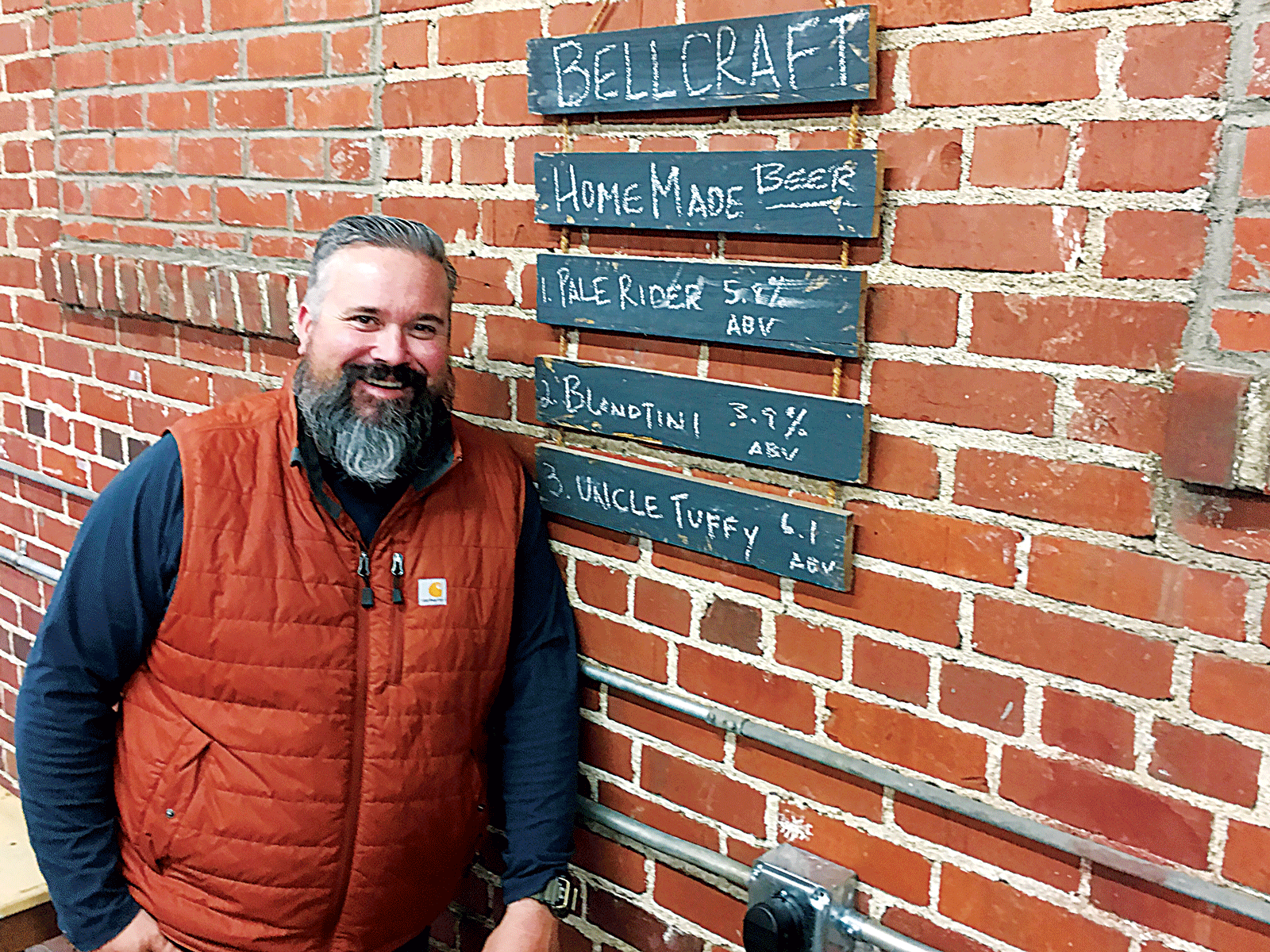 Brent Bell gets ready to open brewery and taproom in former Sun-Gazette warehouse
