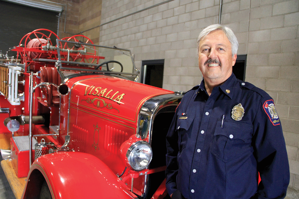 Former Battalion Chief Doyle Sewell to serve as interim chief as city seeks permanent hire