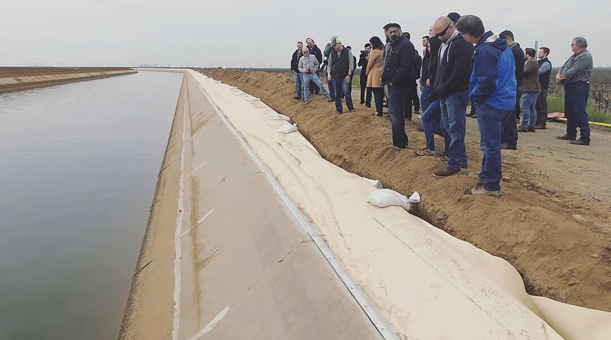 State sinks bill to fix Friant-Kern Canal