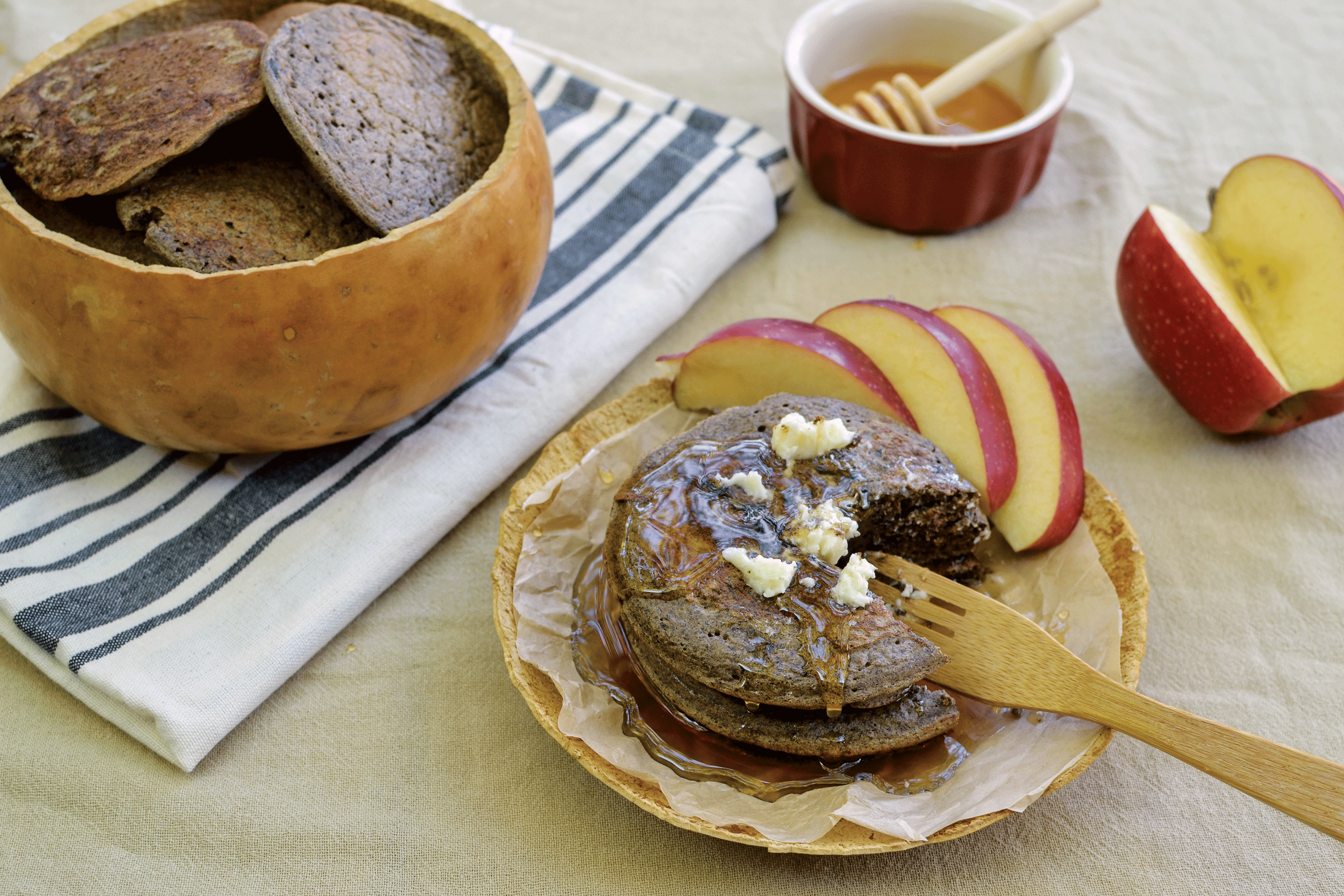 Big on Brunch Recipe: Apple Strudel Pancakes