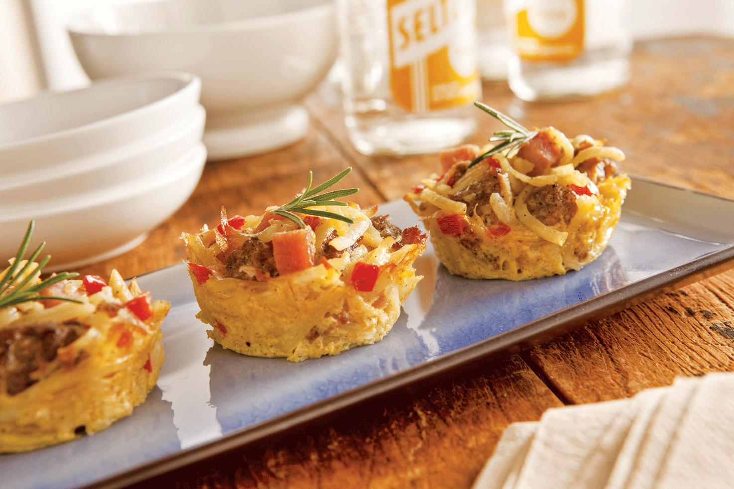 Big on Brunch Recipe: Mini Hash Brown Casseroles