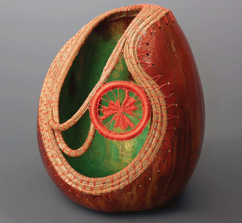 Exeter gallery features gourd art thru May