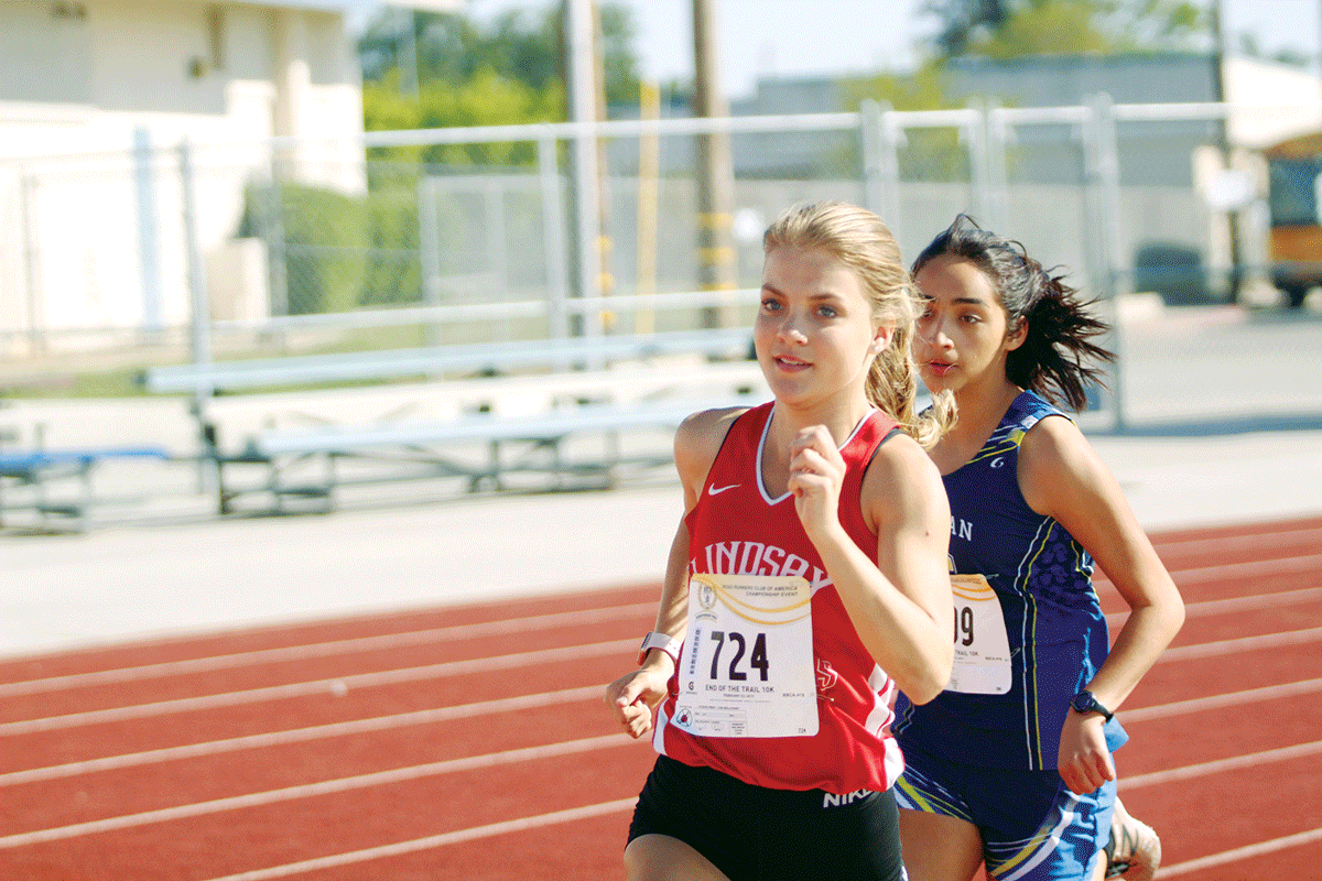 Track and Field: Lindsay's Caesar, Aguayo ready for East Sequoia League championships